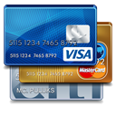 Visa and Mastercard Accepted in 85381